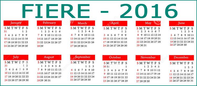 Milano Fiere Calendario.Calendario Fiera Milano Residence Desenzano
