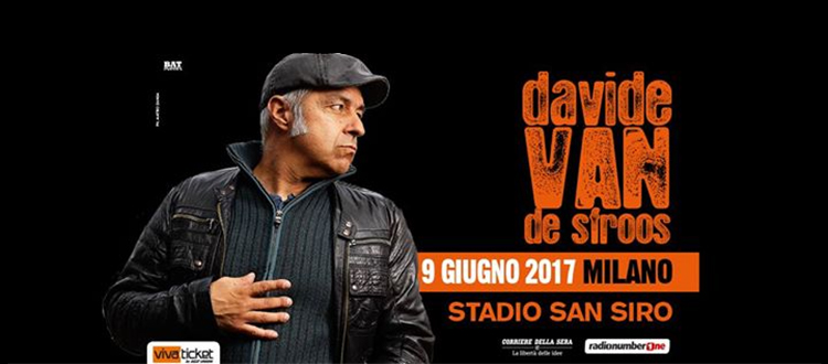 Concerto Davide Van De Sfroos 09 giugno 2017