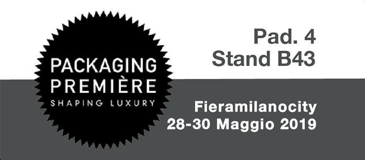 Packaging Première Fieramilano 28 Maggio 2019