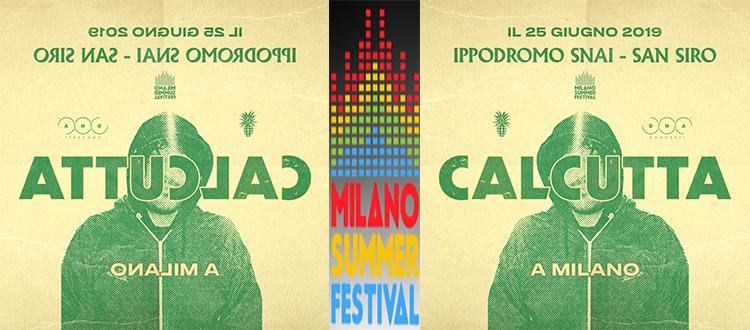 Calcutta Milano Summer Festival 2019