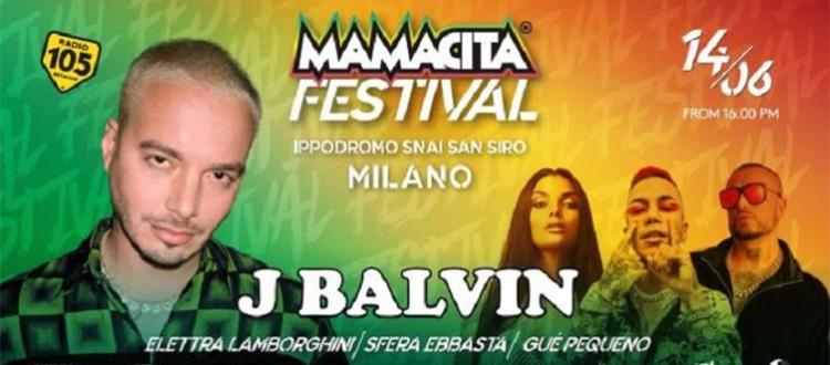 Mamacita Festival J Balvin Milano Summer Festival