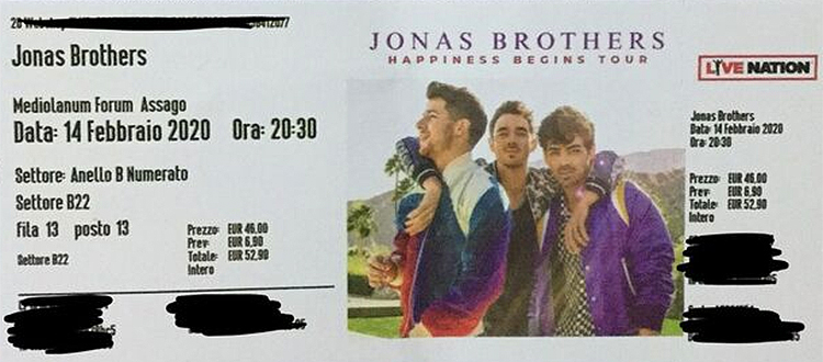 Jonas Brothers Happiness Begins Tour 2020