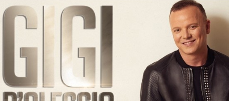 Gigi D'Alessio a Milano 20 Gennaio 2020
